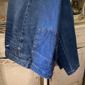 Merona Cropped Jeans Sz 10